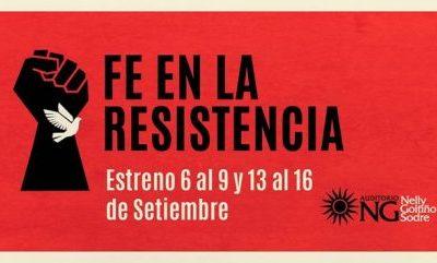 """Estreno del documental """"Fe en la resistencia"""""""